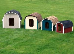 Barn Style Dog Houses