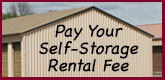 Pay Your Self Storage Rental Fee
